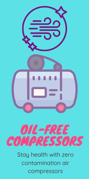 zero contamination oil free air compressors